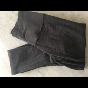 Lululemon Wunder Under Cotton Leggings 4 Gray